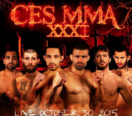 CES MMA 31 weigh-in results from Rhode Island