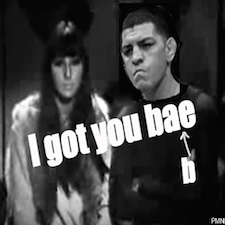 I got you babe: Nick Diaz finds support from pop icon Cher