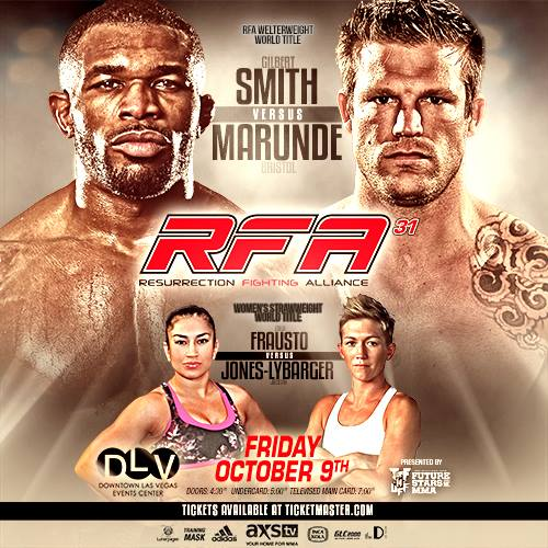 'RFA 31: Smith vs. Marunde' live results
