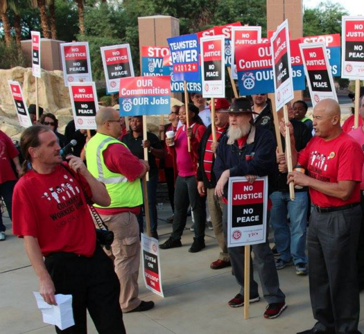 Teamsters and Culinary Union call on Nevada to Reform State Athletic Commission