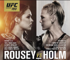UFC 193: Rousey vs. Holm online live stream, television viewing and pay-per-view information