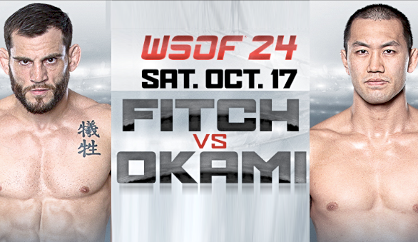 'WSOF 24: Fitch vs. Okami' live results, updates, video highlights