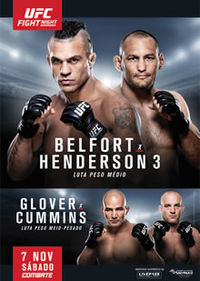 UFC Fight Night 77: Belfort vs. Henderson 3 full card