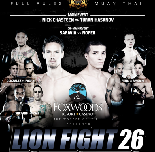 Lion Fight 26 live results, updates, video highlights