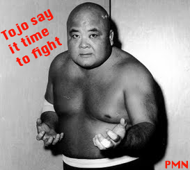 tojo say fight time