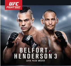 UFC Fight Night 77: Belfort vs. Henderson 3 weigh-in results and video
