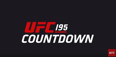 UFC 195 Countdown
