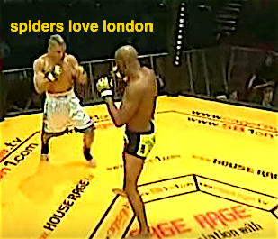 Watch what happened the last time Anderson Silva fought in London
