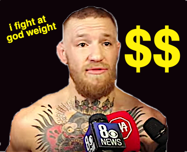 mcgregor god weight