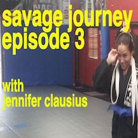 Savage Journey #3: Jennifer Clausius – Road To Hardrock MMA 79
