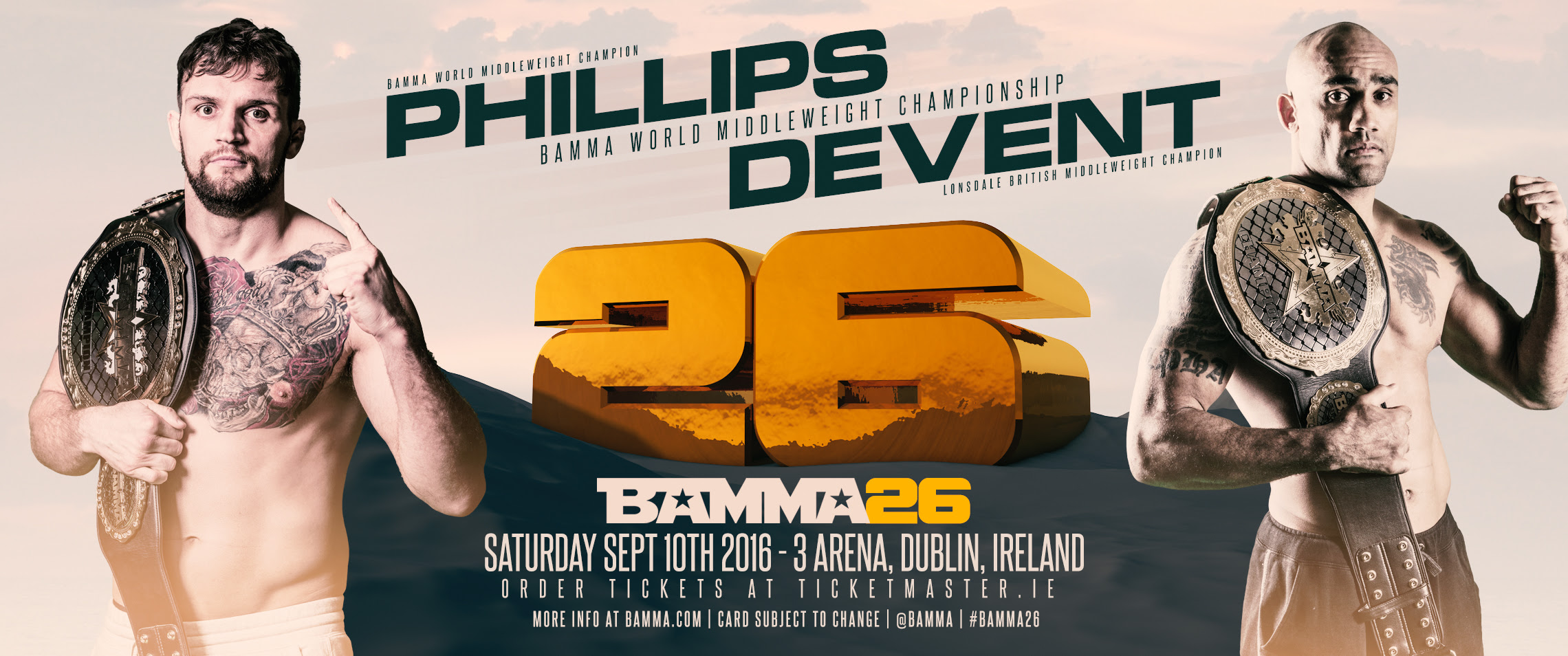 Phillips_vs_DeVent_BAMMA 26_Poster