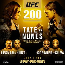 UFC 200 live results and round-by-round updates