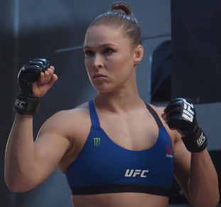 Ronda Rousey: 'I don't care about anything but winning this fight'