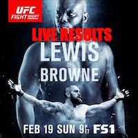 UFC Fight Night 105 live results and play-by-play