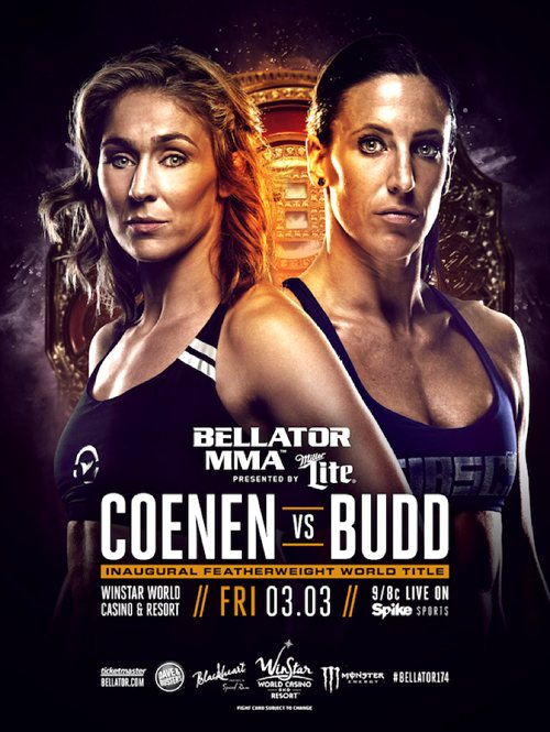 Bellator-174-Marloes-Coenen-vs-Julia-Budd-Fight-Poster