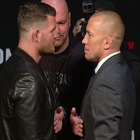 Bisping on GSP title fight delay: 'I think he's waiting for his balls to grow'