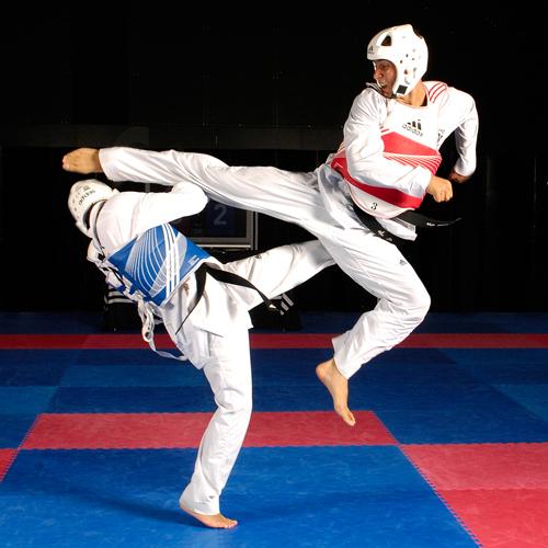 kickboxing karate taekwondo
