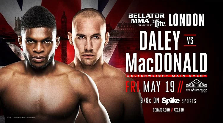 Canada's Rory MacDonald wins Bellator debut with submission of Paul Daley
