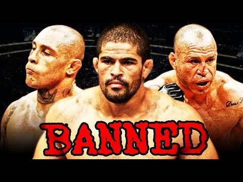 banned ufc