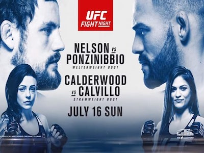 UFC Fight Night 113: Nelson vs. Ponzinibbio results and video highlights