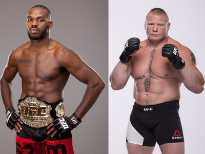 Jon Jones: 'I would love to fight Brock Lesnar'