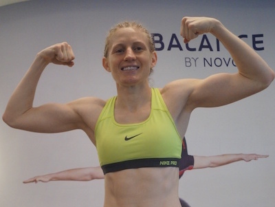 Female fighter drops legendary 'side boob' promo after fight