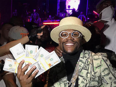 Floyd 'Money' Mayweather Cashes Out Again