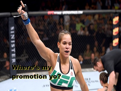 Amanda Nunes 'I know I'm not the beautiful girl' or 'face' of the UFC