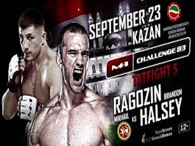 Watch M-1 Challenge 83: Ragozin vs Halsey live stream video
