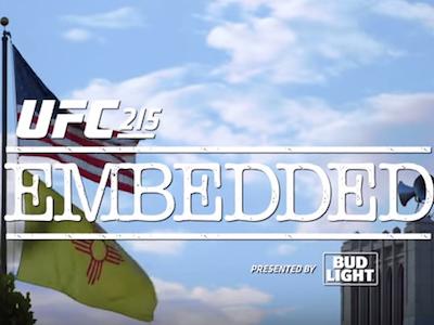 UFC 215 Embedded: episode 1