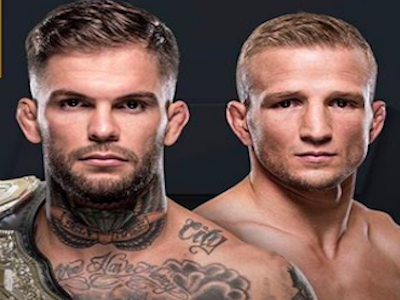 Garbrandt betting odds favorite over Dillashaw at UFC 217