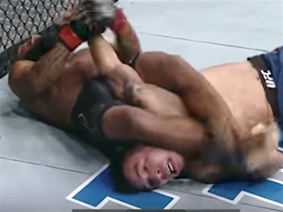 Is this the greatest submission in UFC history?