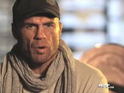 Great MMA fashion moments: Randy Couture's scarf phase