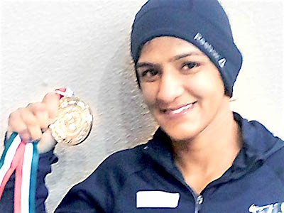 Indian Women Wrestling in 2017: 48kg