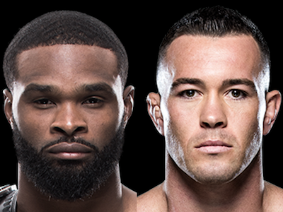 Tyron Woodley says Colby Covington is embarrassing himself