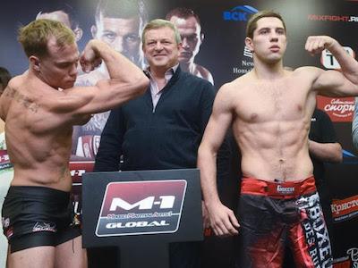 Must see fight of the week: Nate Landwehr vs. Viktor Kolesnik at M-1 Challenge 85