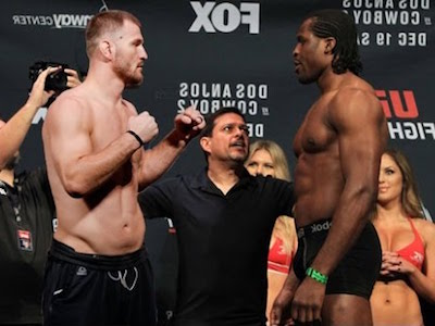 Ngannou opens as betting favorite over champ Miocic