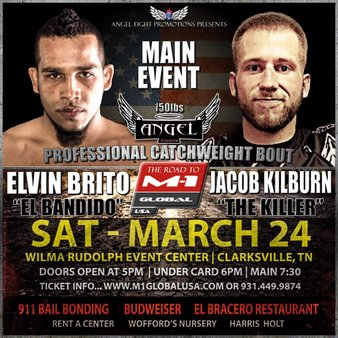 Road to M-1 Global MMA Event in Clarksville on Saturday