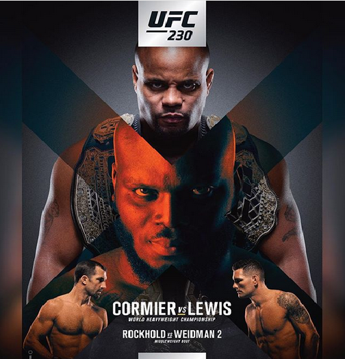 The UFC 230 Poster Dropped